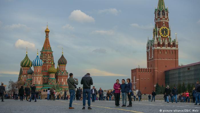 Russland Roter Platz in Moskau (picture-alliance/ZB/C. Welz)