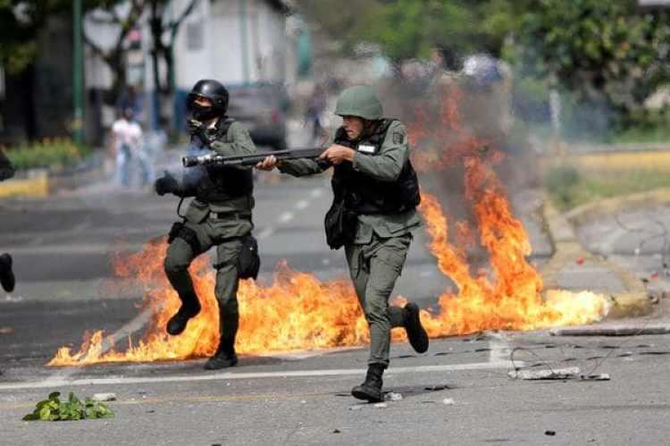 Protestas y represión en Venezuela(REUTERS)
