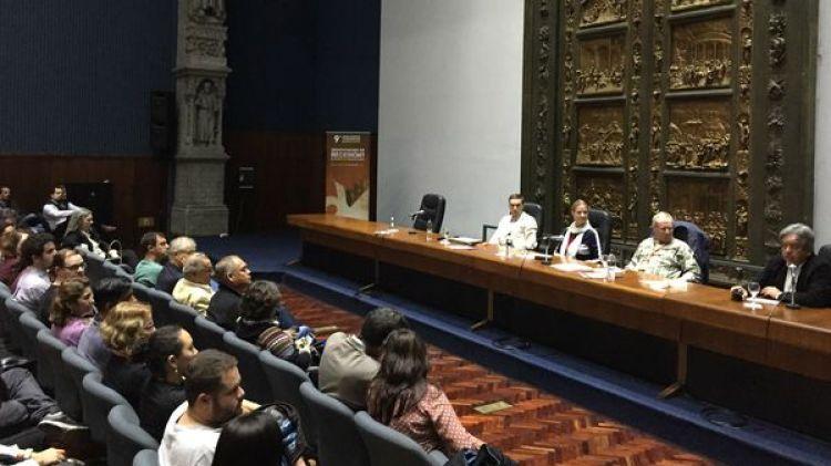 El cierre del Congreso Latinoamericano de Ciencia Política tuvo lugar en el salón azul de la intendencia de Montevideo, Uruguay