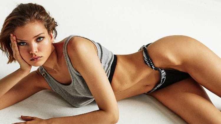 Alesya, de 18 años, es modelo (Instagram)