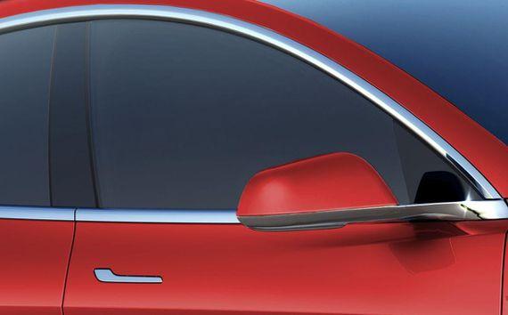 Tesla Model 3 door