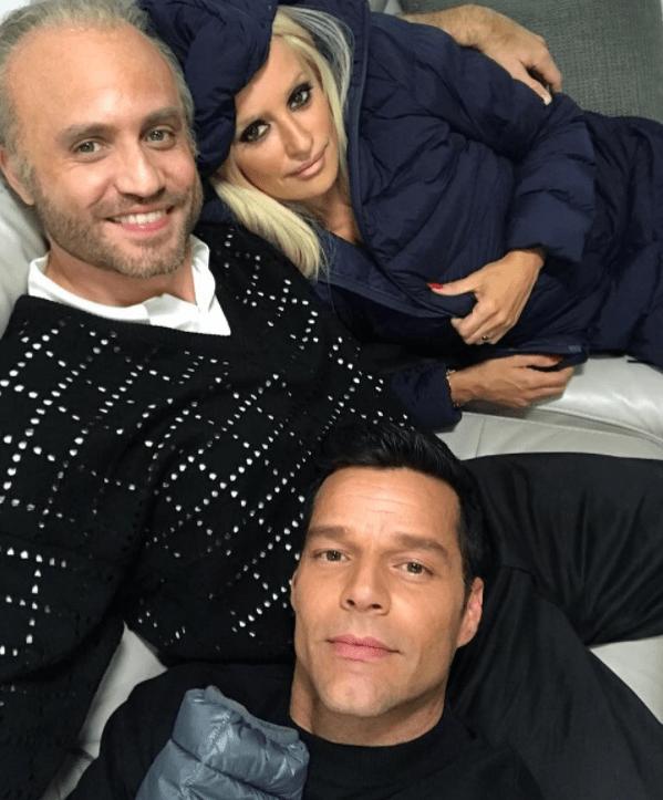 Ricky Martin, Edgar Ramirez, Penelope Cruz