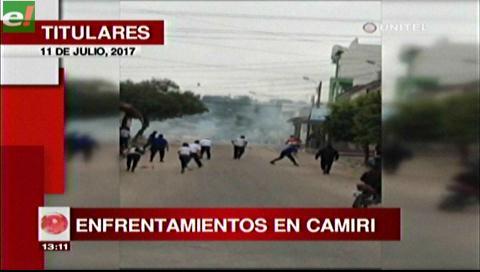 Video titulares de noticias de TV – Bolivia, mediodía del martes 11 de julio de 2017