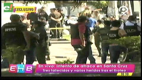 Atracadores habrían sido abatidos por la Policía en Santa Cruz
