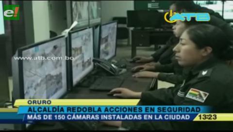 Incrementarán cámaras de vigilancia en Oruro