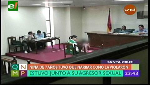 Insólito: jueza somete a niña de 7 años a un careo con su violador