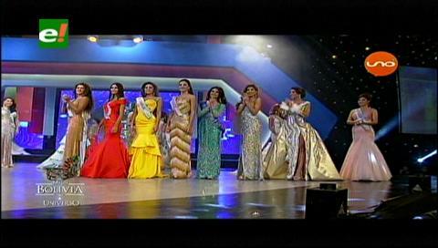 Las 8 semifinalistas del Miss Bolivia 2017