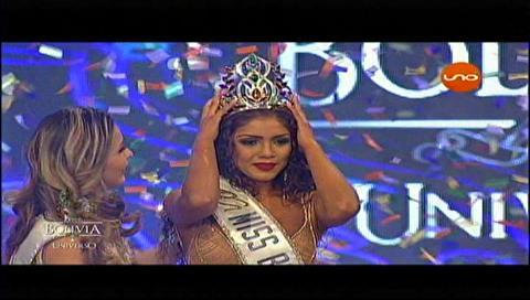 Gleisy Noguer es Miss Bolivia Universo 2017
