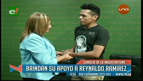 Consejo de la Magistratura brinda su apoyo a Reynaldo Ramírez