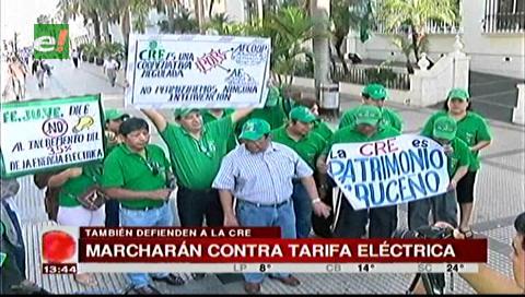 Vecinos se movilizarán contra el alza a la tarifa eléctrica y en defensa de la CRE