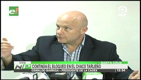 Bloqueo en el Chaco tarijeño afecta considerablemente a las exportaciones