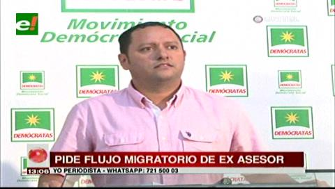 Diputado Dorado pide investigar flujo migratorio de Romer Gutiérrez