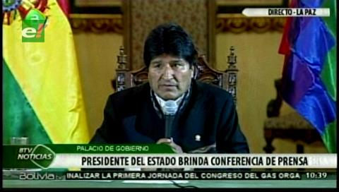 Evo Morales saluda el inicio de una 'nueva relación' con Chile