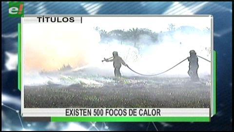 Video titulares de noticias de TV – Bolivia, mediodía del jueves 27 de julio de 2017