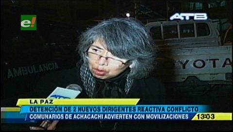 Achacachi reactiva bloqueos de forma indefinida por la liberación de dos profesores