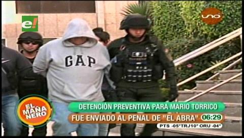 Acusado de doble feminicidio es recluido en El Abra