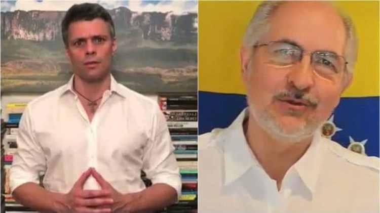 Antonio Ledezma y Leopoldo López