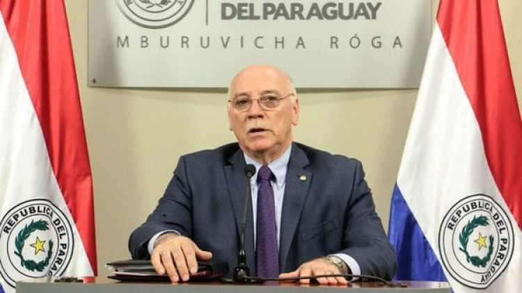 Eladio Loizaga, canciller de Paraguay