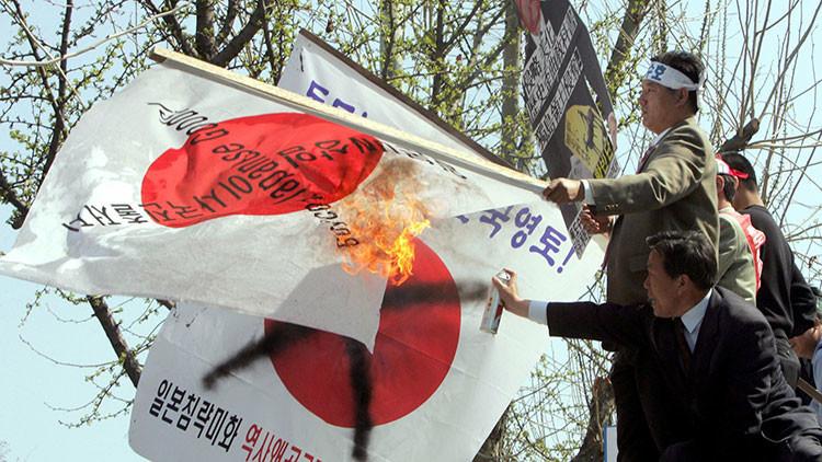 Un mapa de 156 años está a punto de reavivar un conflicto entre Corea del Sur y Japón (FOTO)