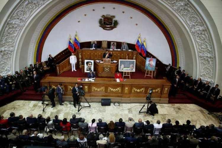 La sesión de la Asamblea Constituyente venezolana (Reuters)