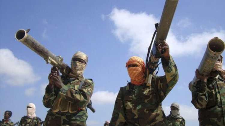 Miembros de Al Qaeda en África.