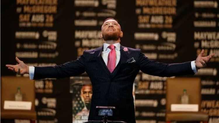 McGregor aseguró que ganará con un nocaut (Reuters)