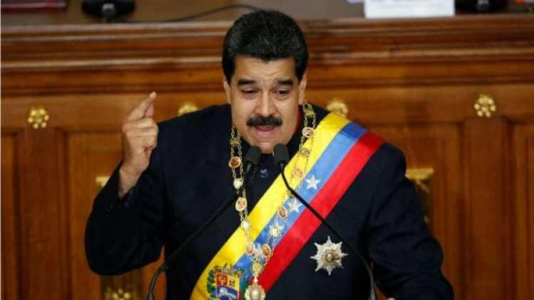 """Nicolás Maduro pidió prisión para los delitos de """"traición a la patria"""" (Reuters)"""