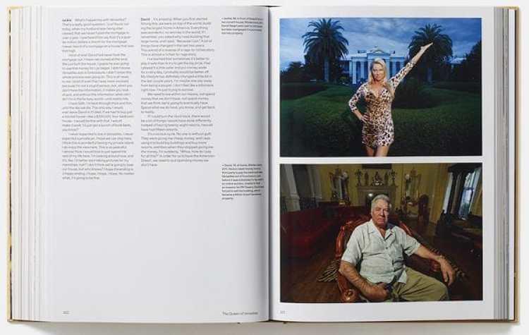 """Jackie y David Siegel soñaron la propiedad más grande de los Estados Unidos; interior del libro """"Generation Wealth"""". (Lauren Greenfield / Phaidon)"""