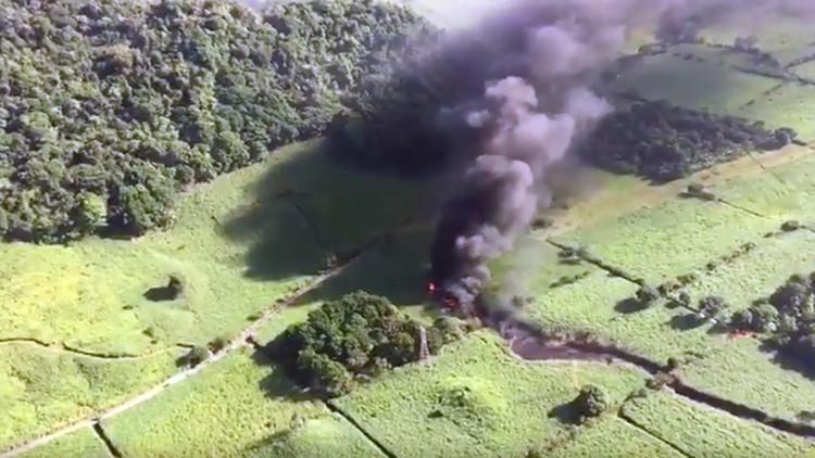 VIDEO: Gran explosión en un gasoducto de Pemex en México