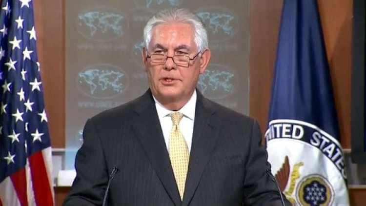 Rex Tillerson, secretario de Estados de EEUU