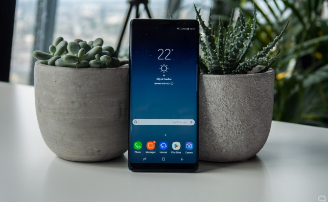Hola, Samsung Galaxy Note 8