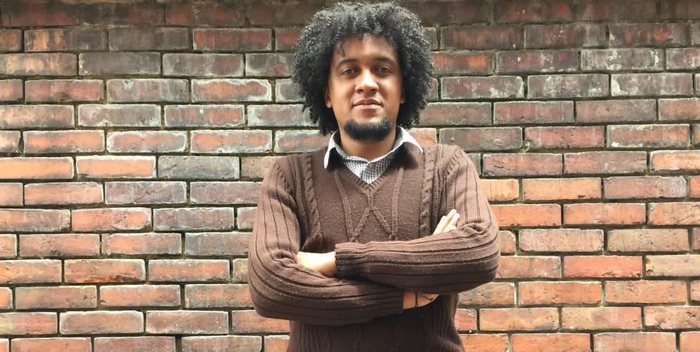 Juan Carabalí, politólogo de la Conferencia Nacional de Organizaciones Afrocolombianas.