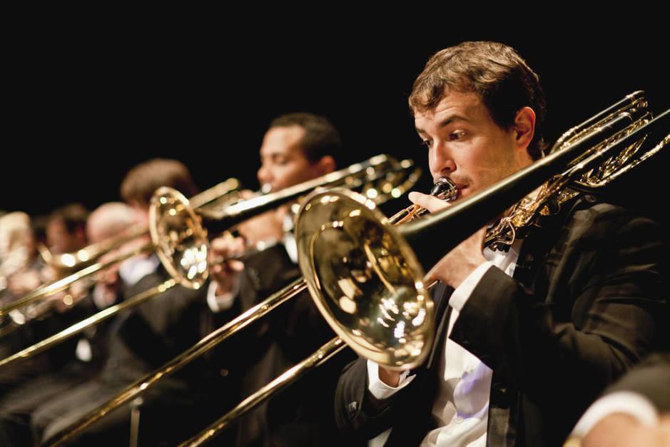 El trombón, uno de los instrumentos que más calorías queman. (iStock)