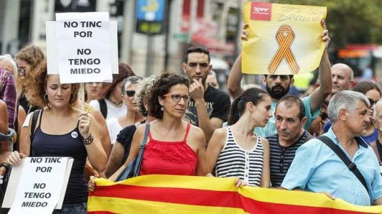 Valencia también apoya la marcha (AFP)