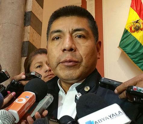 El canciller Fernando Huanacuni informa que el país trabaja en dos comisiones para la cita del 25 de julio en Santa Cruz.