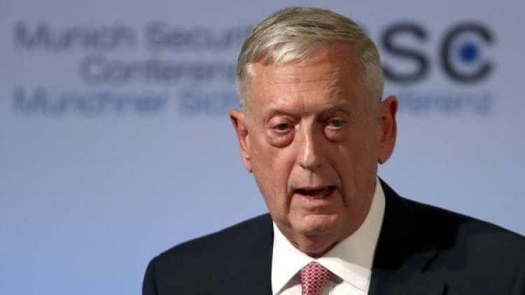 El secretario de Defensa de Estados Unidos, Jim Mattis (Reuters)