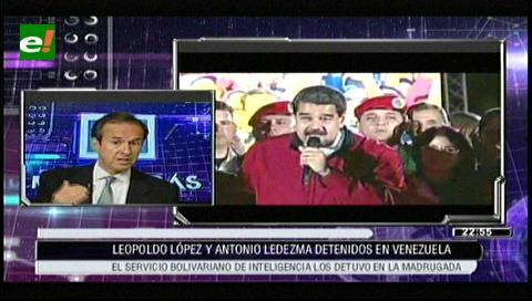 """Tuto Quiroga: """"Lo de Venezuela es una dictadura pura y dura"""""""