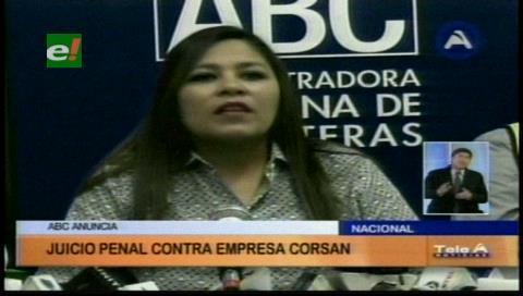 ABC inició juicio penal contra la española Corsan-Corviam