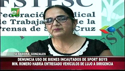 Senadora Gonzales denunció que Dircabi entregó vehículos a dirigentes de Sport Boys
