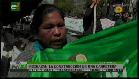 Indígenas no permitirán el ingreso de maquinarias al TIPNIS