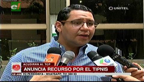 TIPNIS: Diputado Monasterio anuncia recurso de inconstitucionalidad contra ley