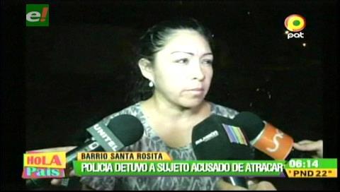 Santa Cruz: Detienen a sujeto que atracaba con un arma de juguete