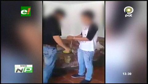 Santa Cruz: Sujeto amarra y golpea a su hijo