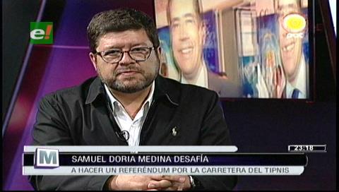 "Samuel: ""Presidente Morales no tenga miedo, vayamos a un referéndum por el Tipnis"""