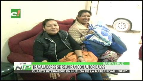 Trabajadores de la Maternidad levantan su huelga de hambre