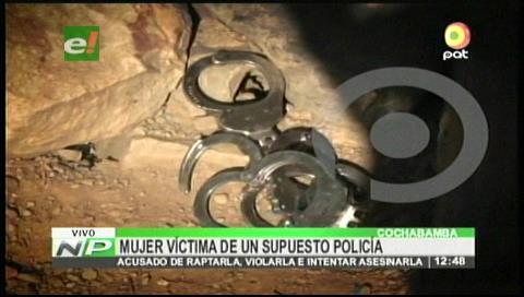 Un expolicía secuestra y viola a joven de 25 años