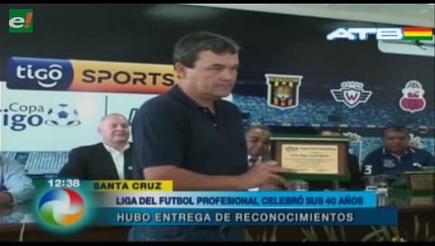 Liga de Fútbol Profesional Boliviano cumplió 40