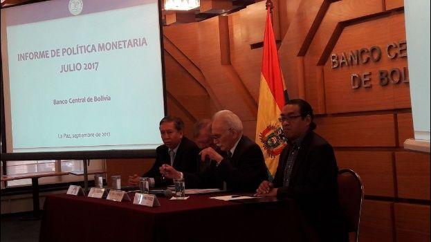 Resultado de imagen para Bolivia: Banco Central destaca política económica