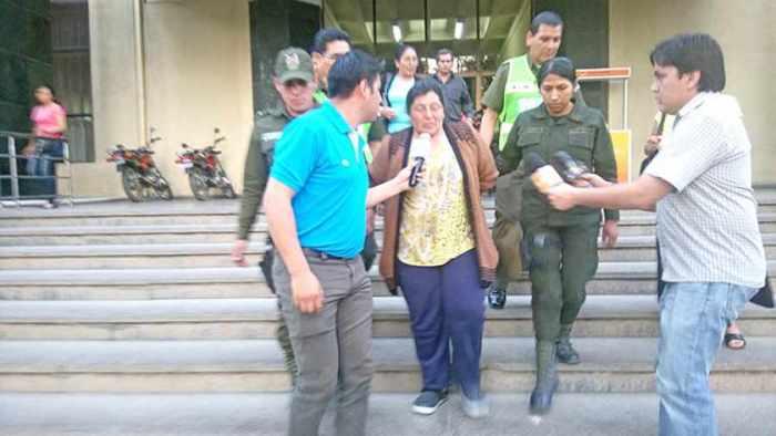 Sale del penal imputada de iniciar el incendio en Sama