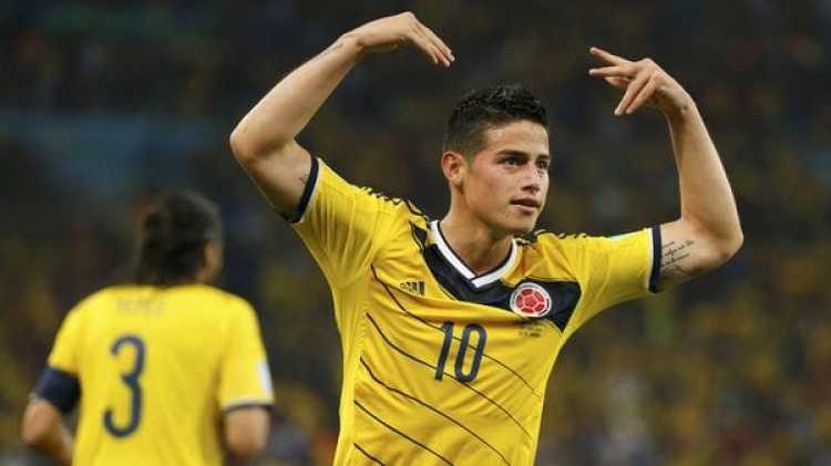 James Rodríguez vuelve a la selección de Colombia (Reuters)